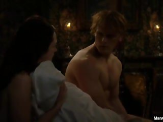 Sam Heughan Nude in Outlander
