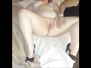 Wife and T another married man cums in her and his wife Tina