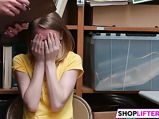 Shoplifting Teen Catarina Gets Fucked