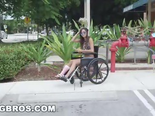 BANGBROS - Petite Kimberly Costa in Wheelchair Gets Fucked (bb13600)
