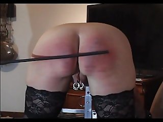 A severe spanking