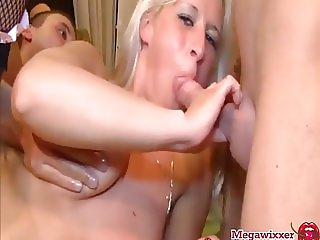 Dirty German GangBang with Manu Magnum