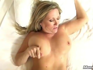 Beautiful Big Tits Cougar Fucks Your Cock POV