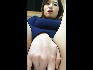 Really Beautiful Korean wife's juicy pussy and sex