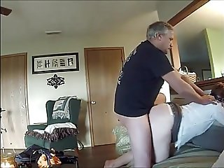 Mature Doggy Pounded