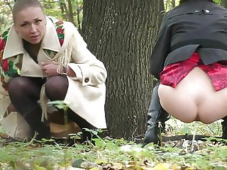 Hidden Cam In Forest Girls Pee Part 15