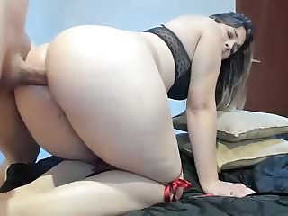 Beautiful girl fucked in a great ass