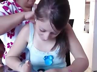 webcam girl mastubates with mom in next room