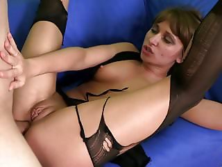 Teen gets spanked and fucked in the ass