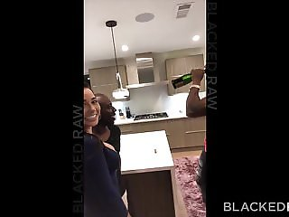BLACKEDRAW Two Party Girls Cheat With BBCs After The Club