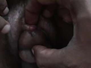 Clit fucking Indian pussy then filling cunt from behind