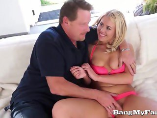 Pervert Uncle Fucks His Sexually Charged Niece Summer Day