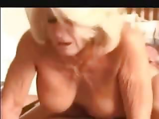 3 Matures Play with Girl