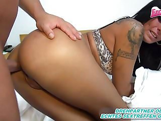 Painful analsex breakdown - she cant escape - rough anal pov