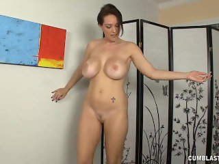 Mature Lady Curious Over Penis Size And Cum Load