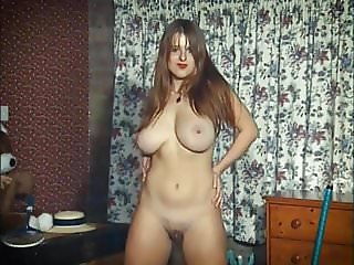 SO WHAT! - vintage British huge tits tease