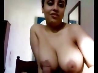 Booby Milf Giving Blowjob & Ridding On Hubby