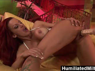 HumiliatedMilfs - Milf Shannon Kelly Gets Dildo Fucked By Elena Rivera