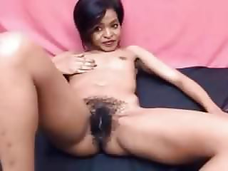 hairy ebony webcam