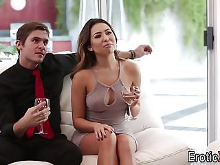 Babes swap cum in fourway