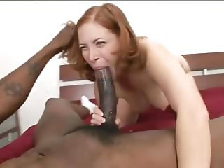 Redhead Milf First Monster