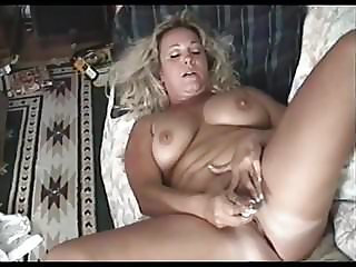 Chubby Mature Masturbates to a Quiet Orgasm