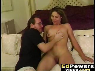 Naughty babe Mercedes smashed hard in doggystyle by Ed