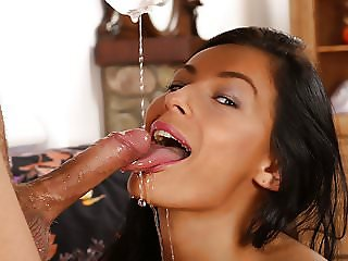 Piss Fuck - Lexi Dona gets drenched in pee during rough sex