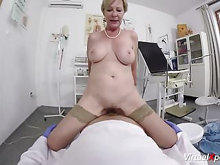 doctor POV sex with hairy mom