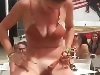 spy the pussy in mechanical bull
