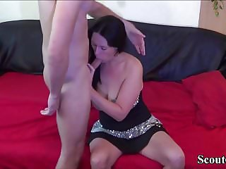 German Ex Girlfriend Seduce to Fuck in Amateur Sex-Video