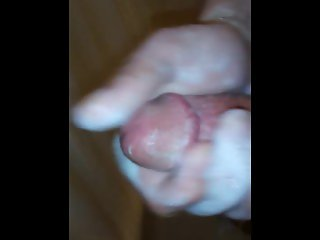 Big Soapy Dick Getting Stroked