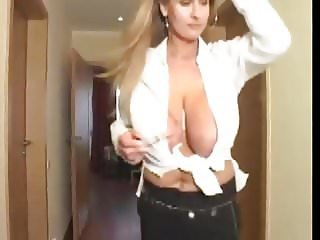 kate teases with her huge tits