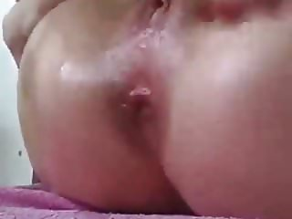 Teen Playing With Her Ass