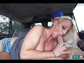 Amateur Blonde Fucks around for some Cash
