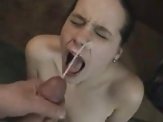 home made face cum shot