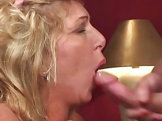 Mature Blonde Knows how to Ride a Hard one