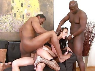Teen gangbang fucked by 4 men hardcore and rough big cocks