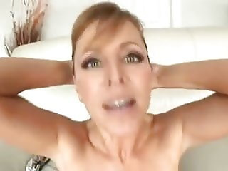 Busty Mom Sharing By BBC Cock And White Cocks