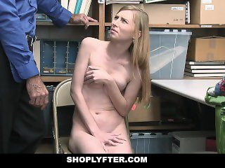 ShopLyfter - Cute Blonde Teen Fucked by LP Officer