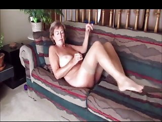 in office older mature exhibitionist