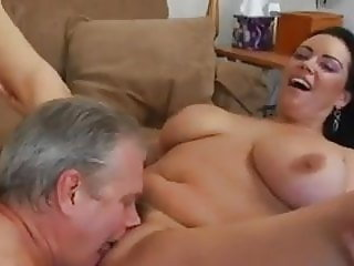bbw mature fucks a mature man