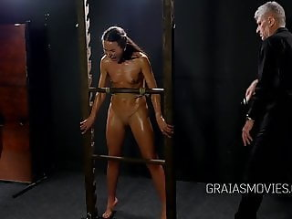 Russian model stripped and punished