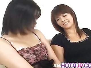 Ami Hojo in passionate scenes of raw Jap - More at hotajp.co
