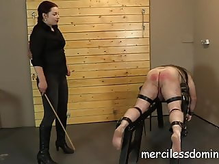He Came For A Caning - Merciless Goddess Sophia
