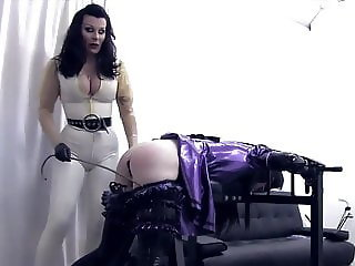 Mistress whit her Trained Sissy