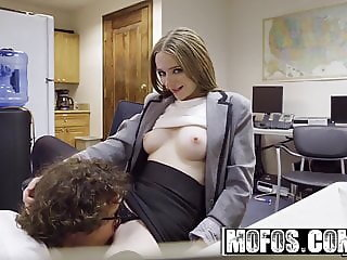 Mofos - Sexy Secretarys Secret Cam Work starring Ava Hardy