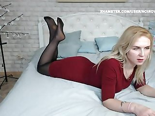 WM 531 Milf black Pantyhose Feet & Heels