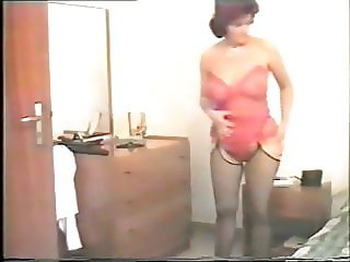 Homemade very hairy mature wife and man
