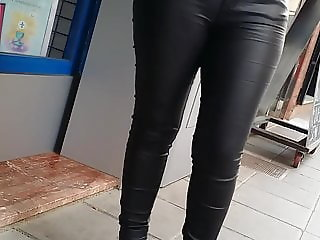 sexy milf leather
